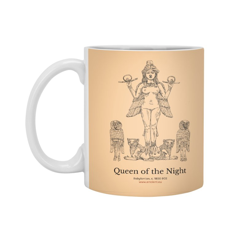 Queen of the Night (Peach) Accessories Standard Mug by Ancient History Encyclopedia