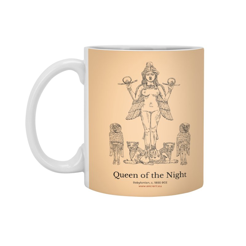 Queen of the Night (Peach) Accessories Mug by Ancient History Encyclopedia