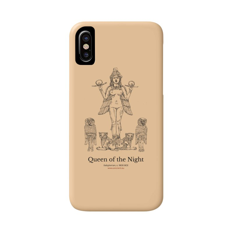 Queen of the Night (Peach) Accessories Phone Case by Ancient History Encyclopedia
