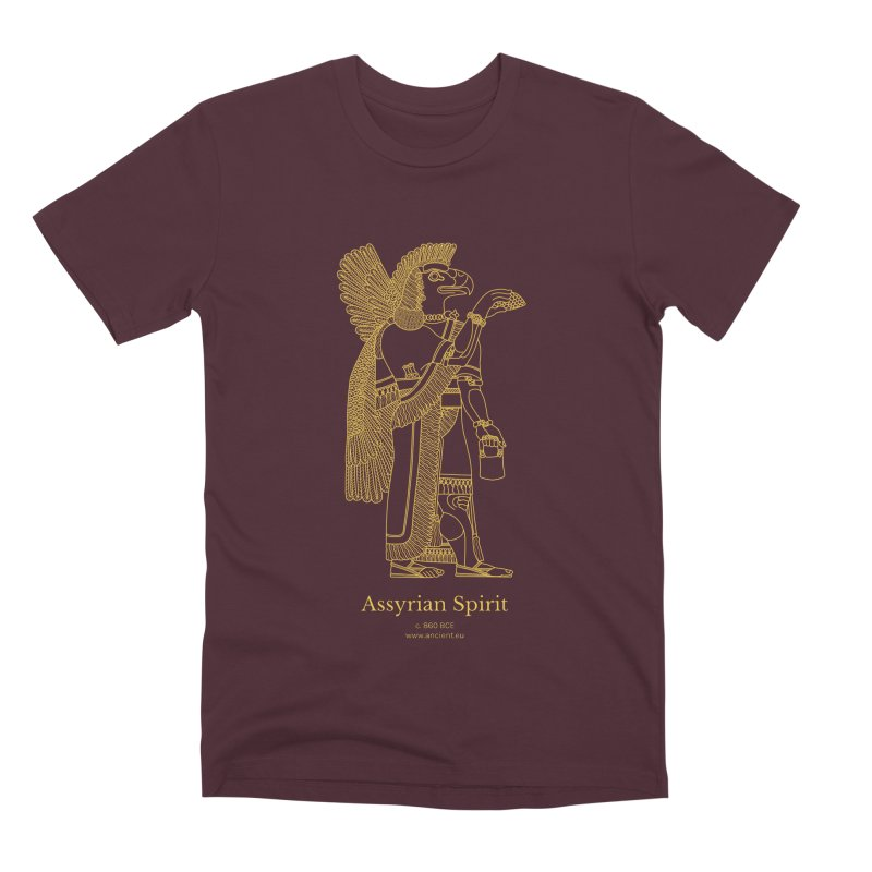 Assyrian Spirit Clothing Men's Premium T-Shirt by Ancient History Encyclopedia
