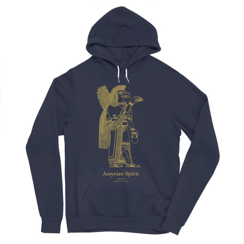 Assyrian Spirit Clothing Men's Sponge Fleece Pullover Hoody by Ancient History Encyclopedia