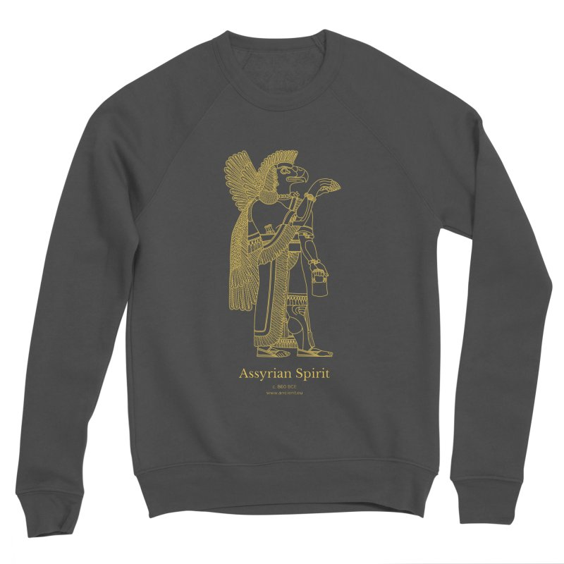 Assyrian Spirit Clothing Men's Sponge Fleece Sweatshirt by Ancient History Encyclopedia