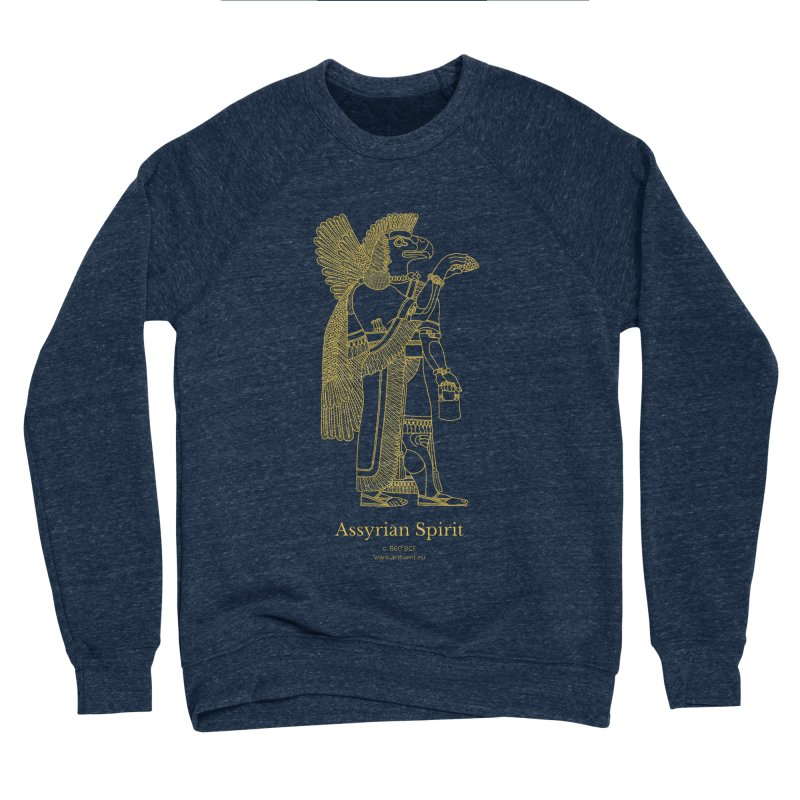 Assyrian Spirit Clothing Men's Sponge Fleece Sweatshirt by Ancient History Encyclopedia