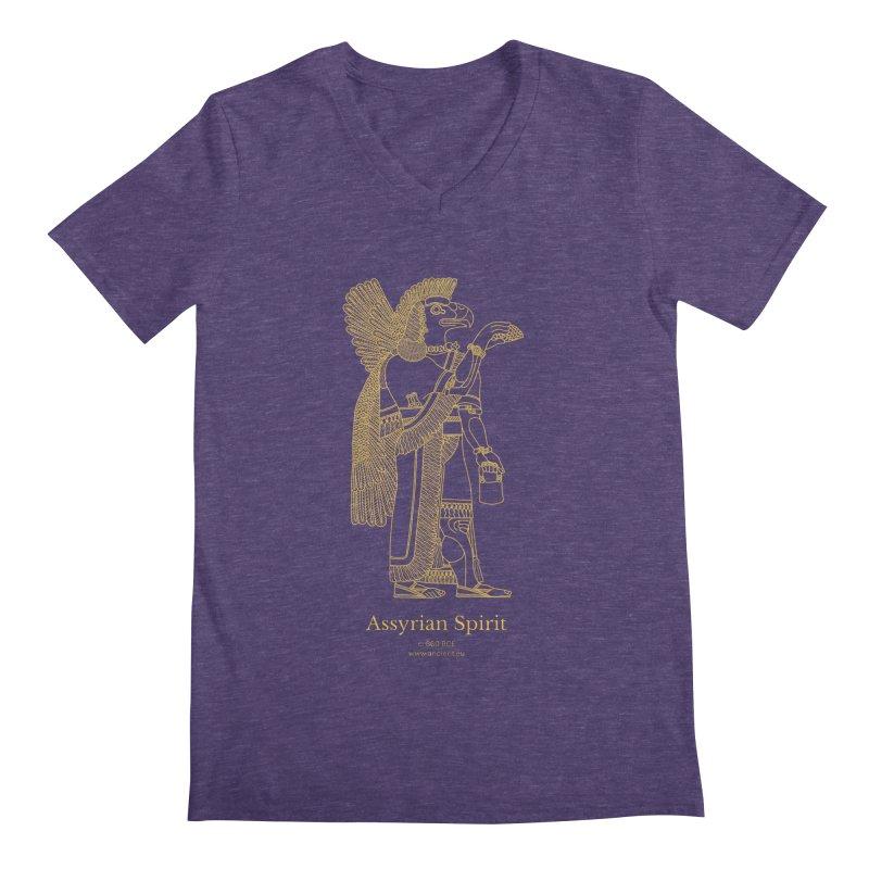 Assyrian Spirit Clothing Men's V-Neck by Ancient History Encyclopedia