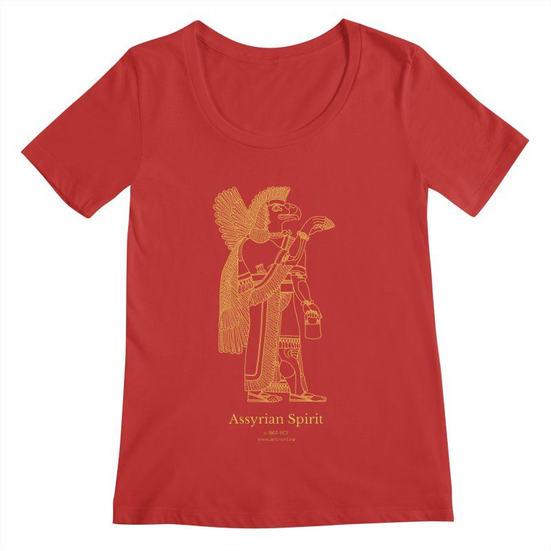 Assyrian Spirit Clothing Women's Regular Scoop Neck by Ancient History Encyclopedia