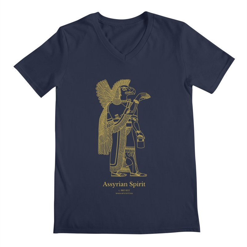 Assyrian Spirit Clothing Men's Regular V-Neck by Ancient History Encyclopedia