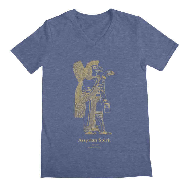 Assyrian Spirit Clothing Men's Regular V-Neck by Ancient History Encyclopedia