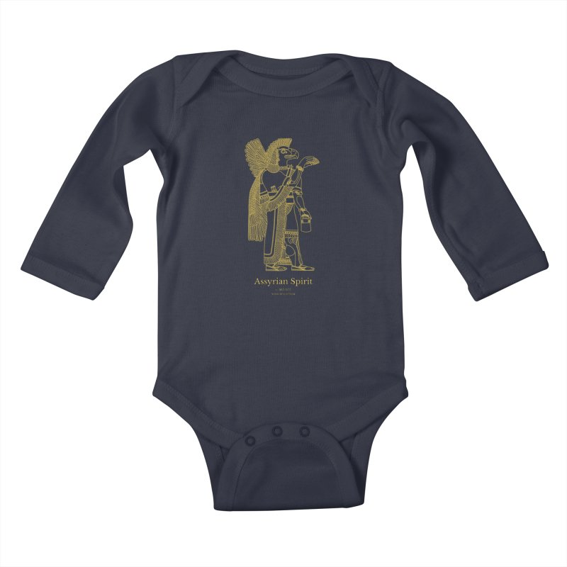 Assyrian Spirit Clothing Kids Baby Longsleeve Bodysuit by Ancient History Encyclopedia