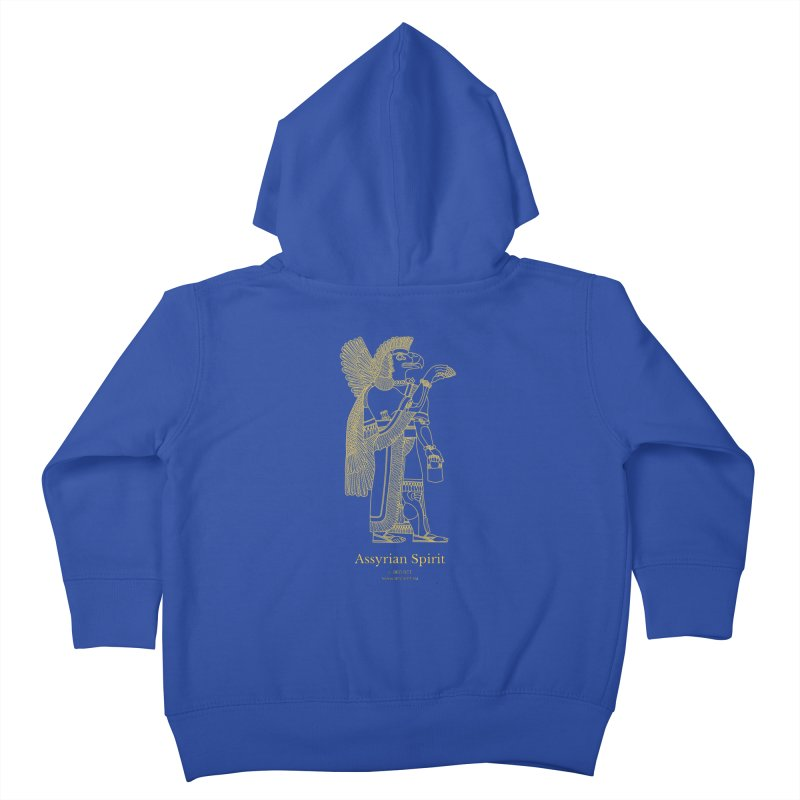 Assyrian Spirit Clothing Kids Toddler Zip-Up Hoody by Ancient History Encyclopedia