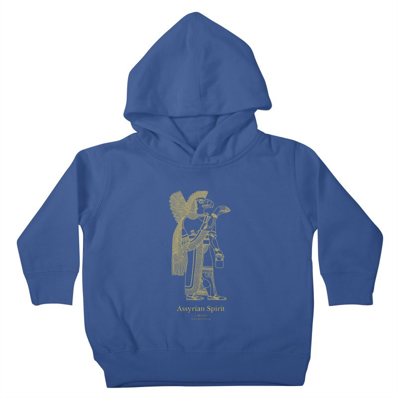 Assyrian Spirit Clothing Kids Toddler Pullover Hoody by Ancient History Encyclopedia
