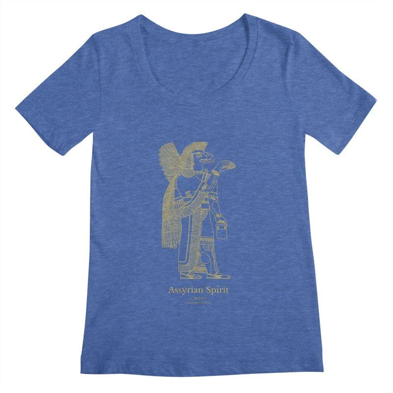 Assyrian Spirit Clothing Women's Regular Scoop Neck by Ancient History Encyclopedia