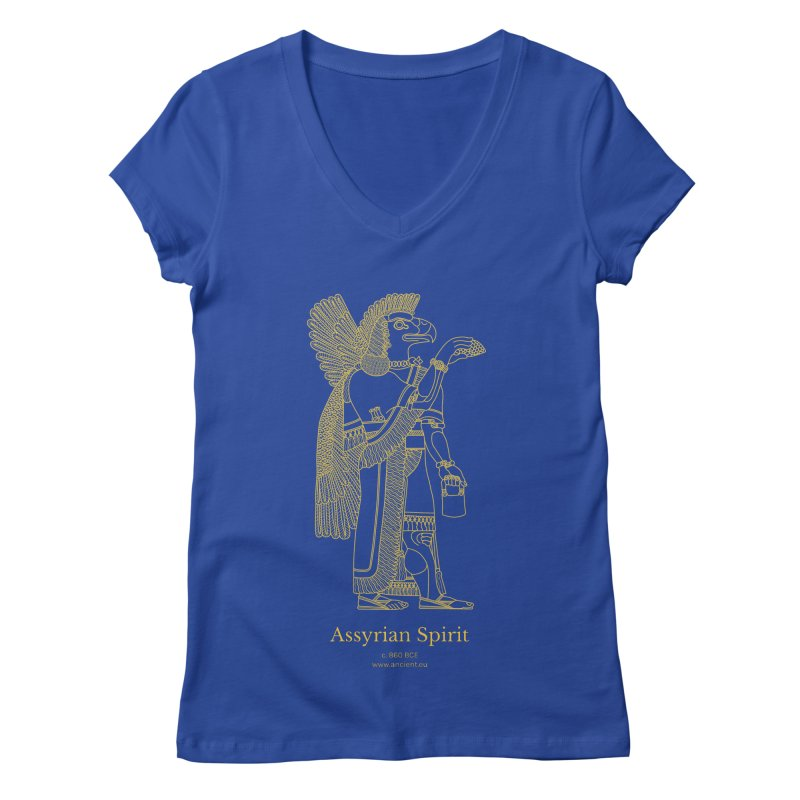 Assyrian Spirit Clothing Women's Regular V-Neck by Ancient History Encyclopedia