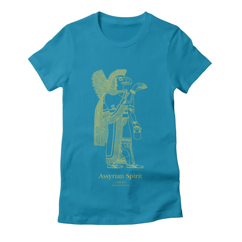 Assyrian Spirit Clothing Women's Fitted T-Shirt by Ancient History Encyclopedia