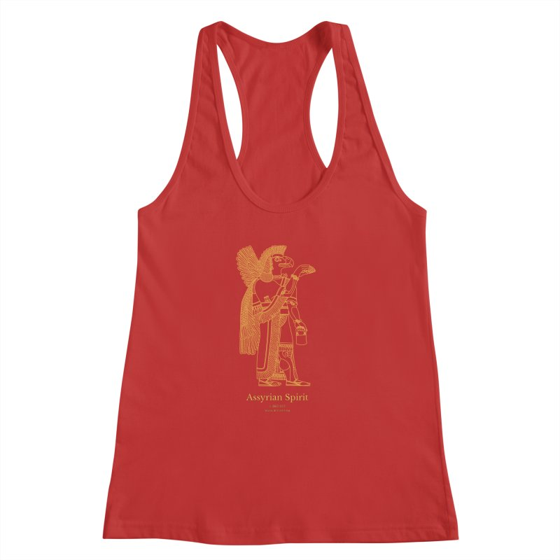 Assyrian Spirit Clothing Women's Racerback Tank by Ancient History Encyclopedia