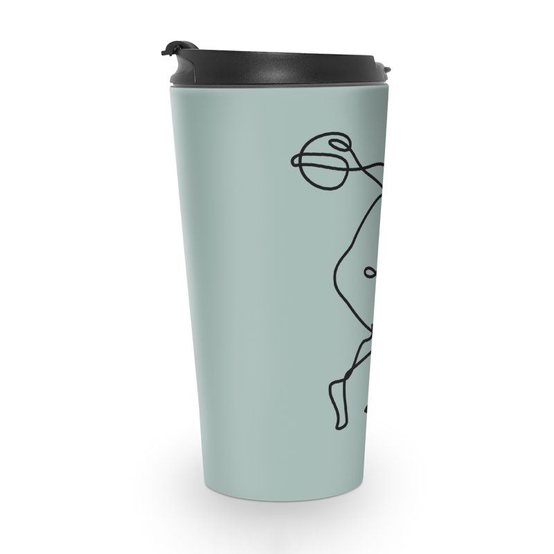 Greek Discus Thrower (Opal) Accessories Travel Mug by Ancient History Encyclopedia