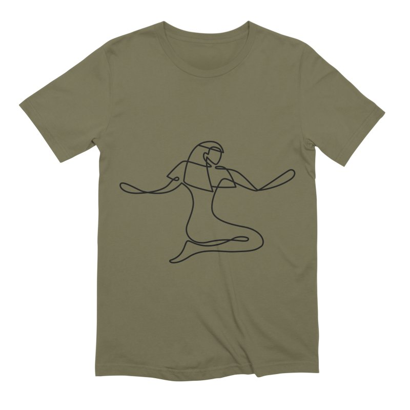 Isis (Bridal Heath) Men's Extra Soft T-Shirt by Ancient History Encyclopedia