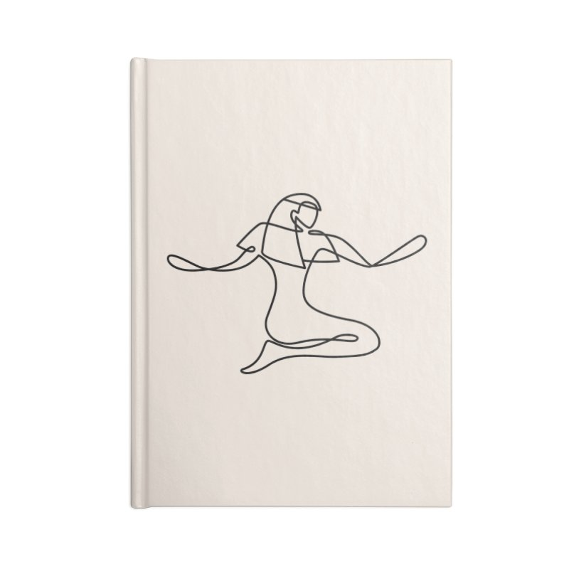 Isis (Bridal Heath) Accessories Lined Journal Notebook by Ancient History Encyclopedia