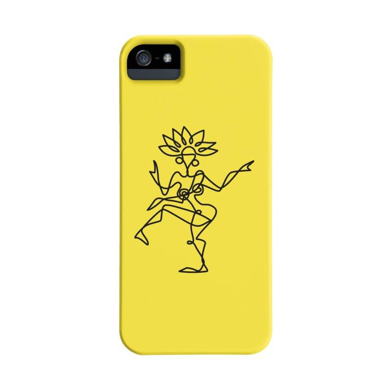 Shiva Nataraja (bright yellow) Accessories Phone Case by Ancient History Encyclopedia