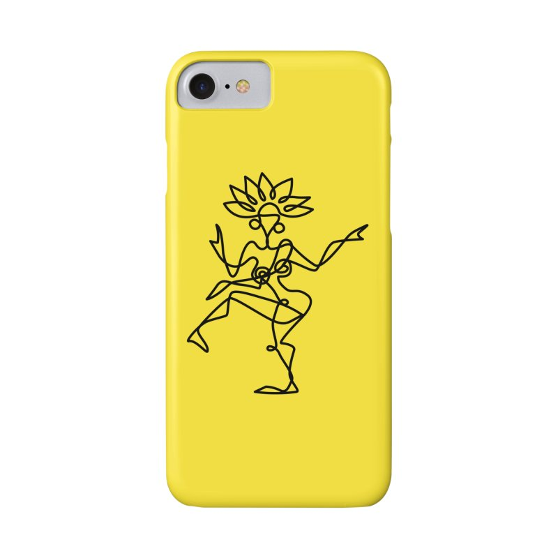 Shiva Nataraja (bright yellow) Accessories Phone Case by Ancient History Encyclopedia