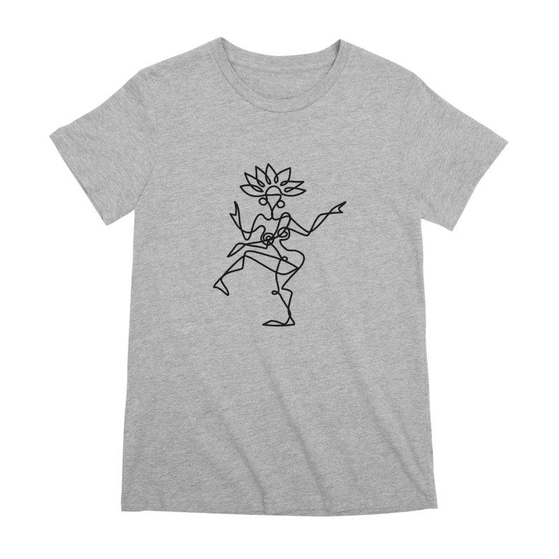 Shiva Nataraja Clothing Women's Premium T-Shirt by Ancient History Encyclopedia