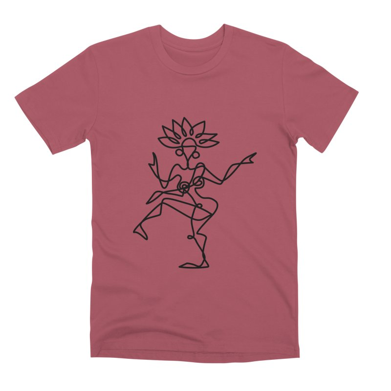 Shiva Nataraja Clothing Men's Premium T-Shirt by Ancient History Encyclopedia
