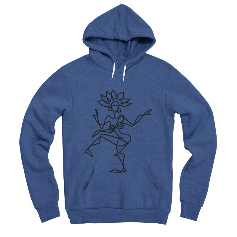 Shiva Nataraja Clothing Men's Sponge Fleece Pullover Hoody by Ancient History Encyclopedia