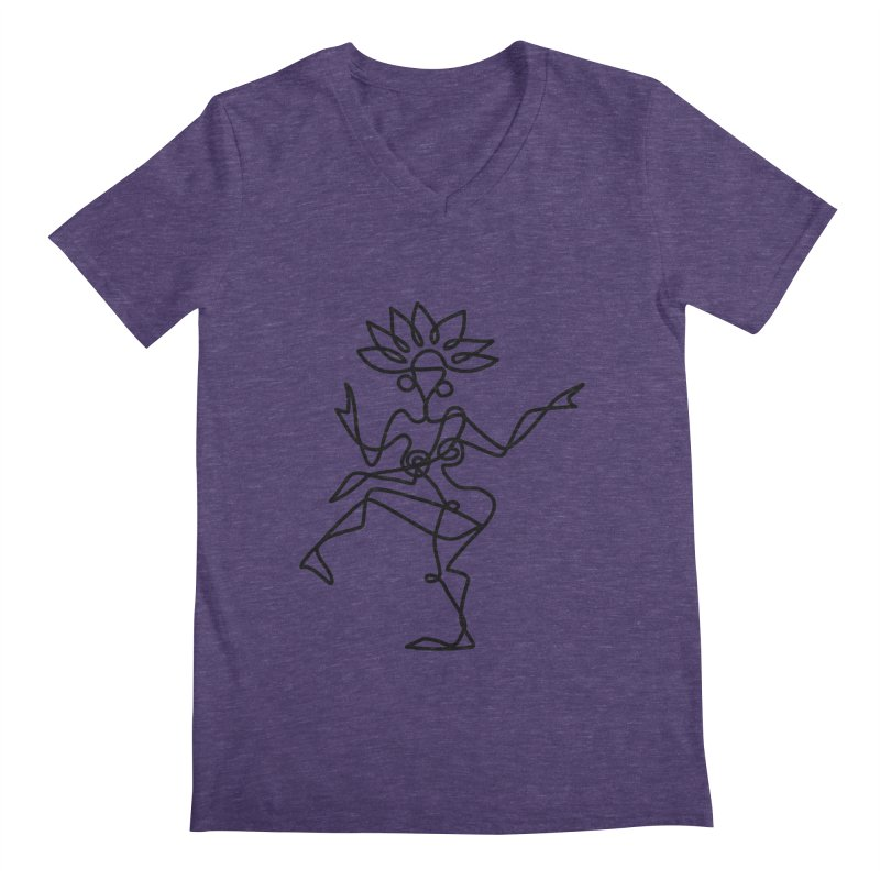 Shiva Nataraja Clothing Men's Regular V-Neck by Ancient History Encyclopedia