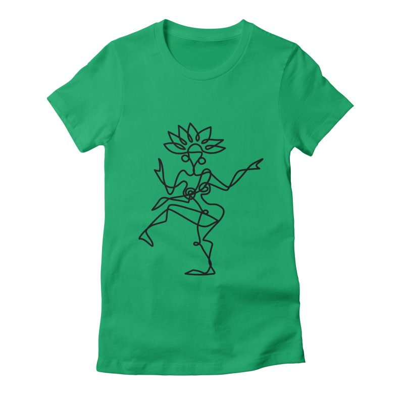 Shiva Nataraja Clothing Women's Fitted T-Shirt by Ancient History Encyclopedia