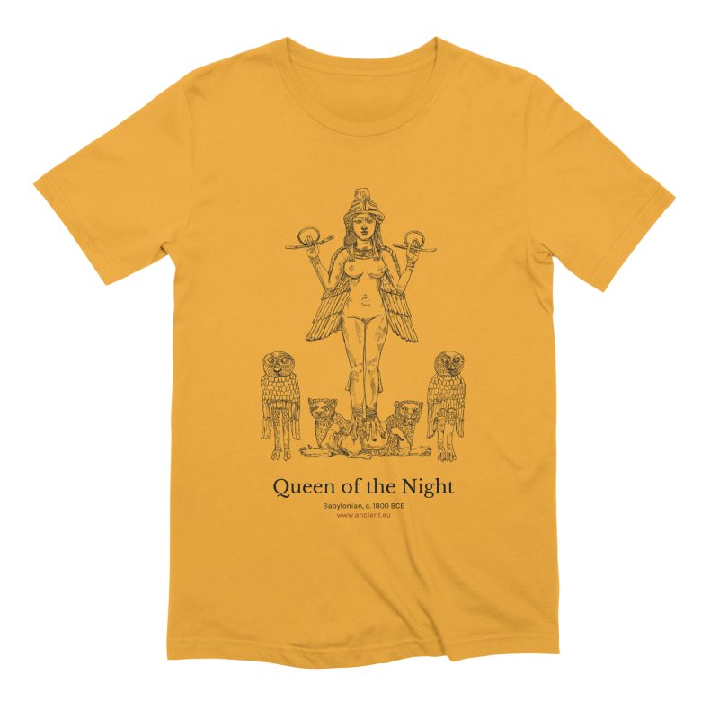 Queen of the Night Clothing Men's Extra Soft T-Shirt by Ancient History Encyclopedia