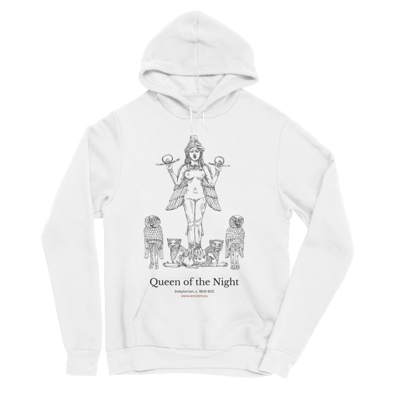 Queen of the Night Clothing Men's Sponge Fleece Pullover Hoody by Ancient History Encyclopedia