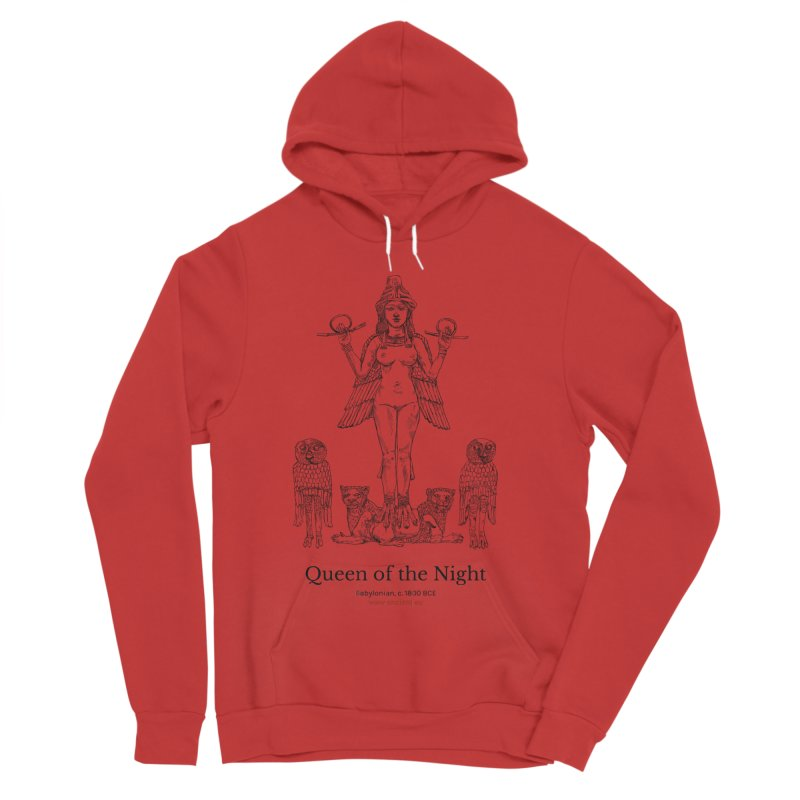 Queen of the Night Clothing Women's Pullover Hoody by Ancient History Encyclopedia