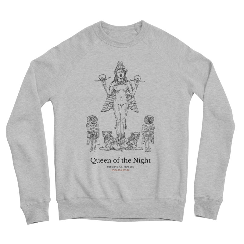 Queen of the Night Clothing Men's Sponge Fleece Sweatshirt by Ancient History Encyclopedia