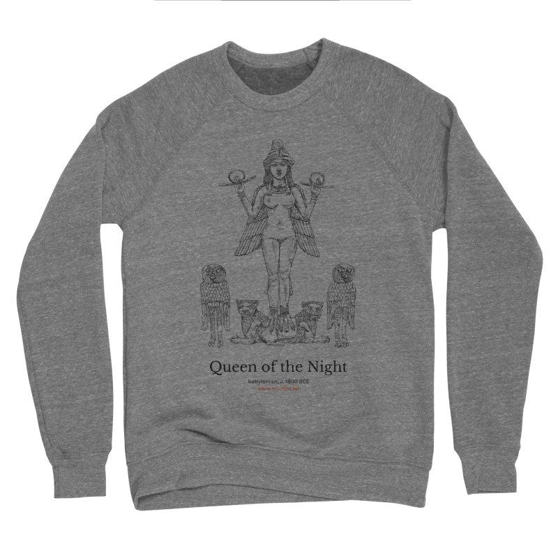 Queen of the Night Clothing Women's Sponge Fleece Sweatshirt by Ancient History Encyclopedia