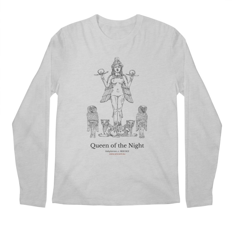 Queen of the Night Clothing Men's Regular Longsleeve T-Shirt by Ancient History Encyclopedia