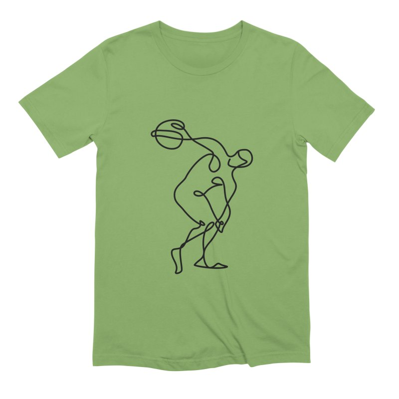 Greek Discus Thrower Clothing Men's T-Shirt by Ancient History Encyclopedia