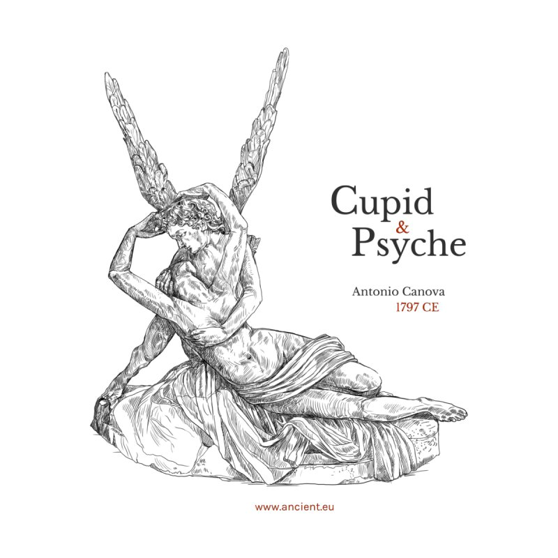 Cupid and Psyche Clothing by Ancient History Encyclopedia