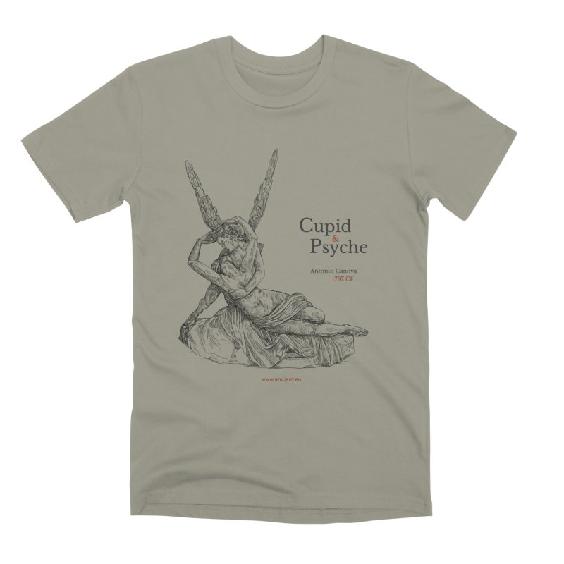 Cupid and Psyche Clothing Men's Premium T-Shirt by Ancient History Encyclopedia