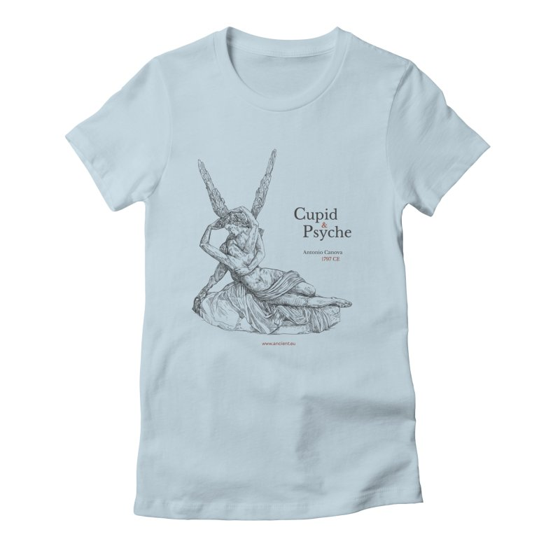 Cupid and Psyche Clothing Women's T-Shirt by Ancient History Encyclopedia