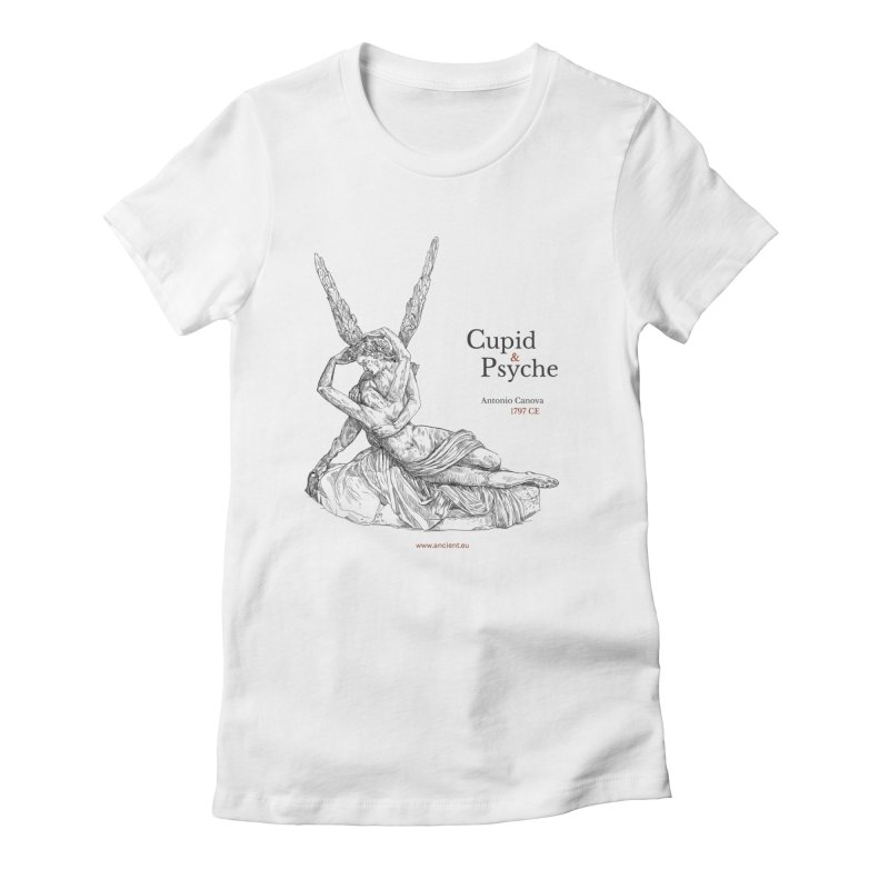 Cupid and Psyche Clothing Women's Fitted T-Shirt by Ancient History Encyclopedia