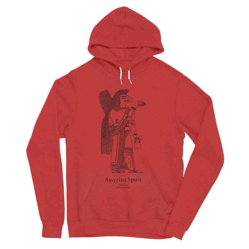 Assyrian Spirit Clothing (black) Men's Pullover Hoody by Ancient History Encyclopedia