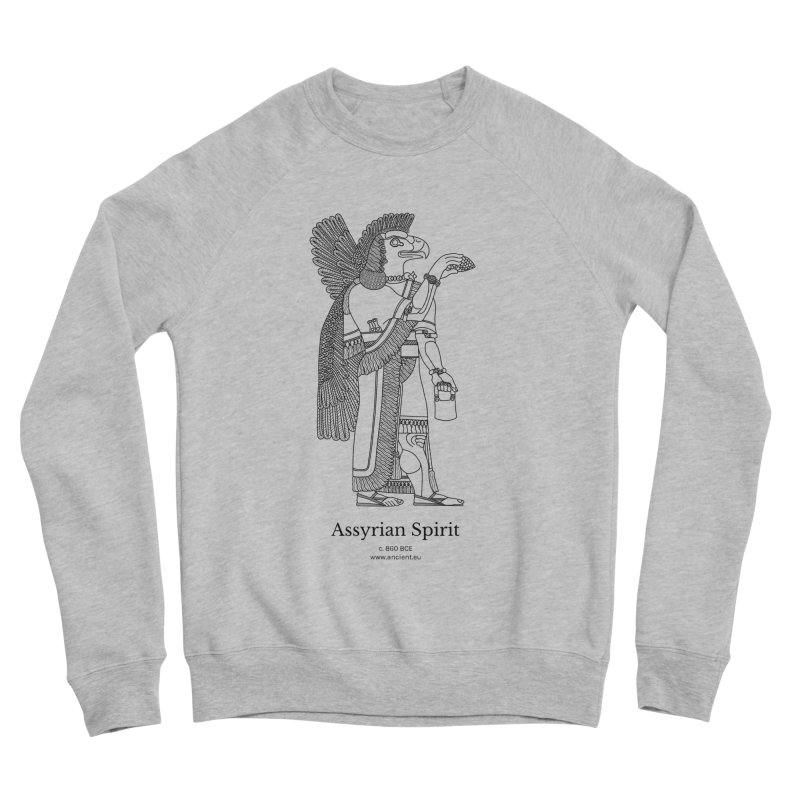 Assyrian Spirit Clothing (black) Women's Sweatshirt by Ancient History Encyclopedia