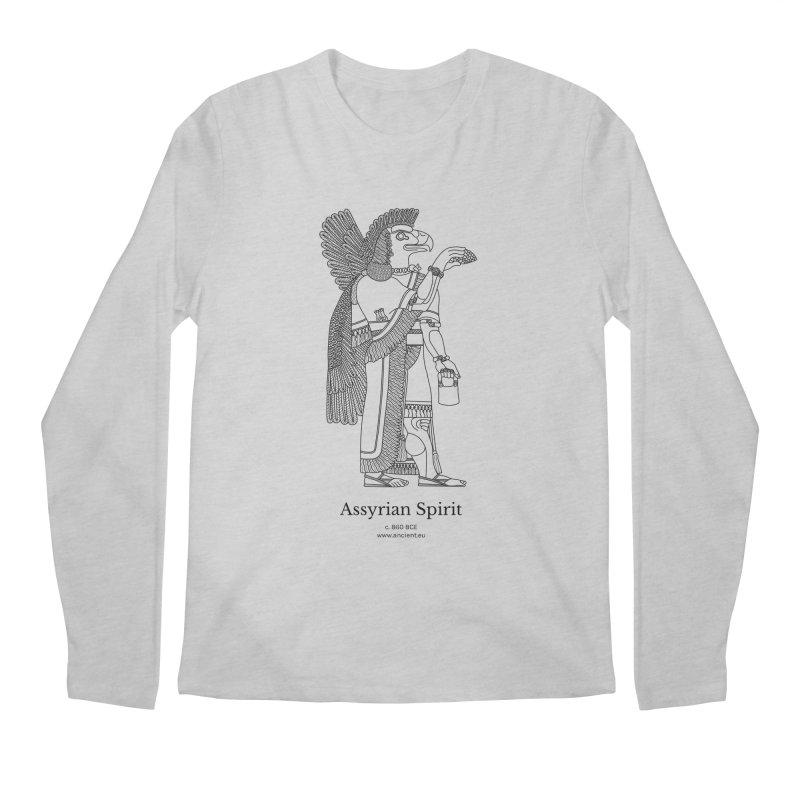 Assyrian Spirit Clothing (black) Men's Regular Longsleeve T-Shirt by Ancient History Encyclopedia