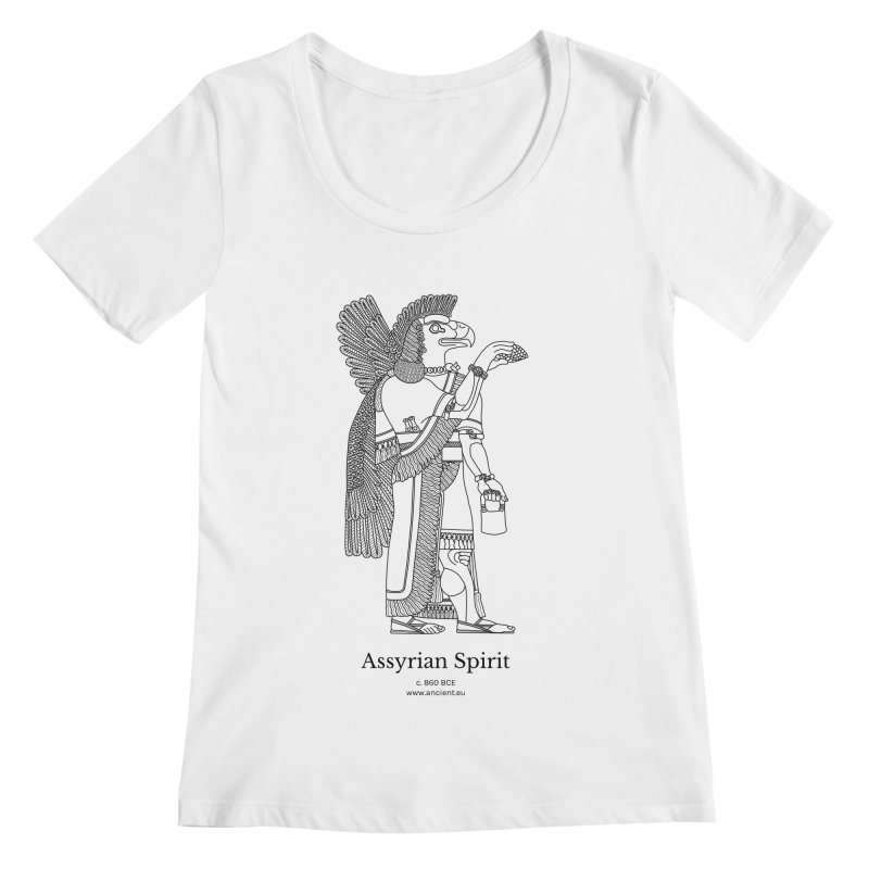 Assyrian Spirit Clothing (black) Women's Regular Scoop Neck by Ancient History Encyclopedia
