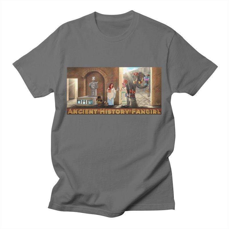 Fangirl Life Men's T-Shirt by ancienthistoryfangirl's Artist Shop