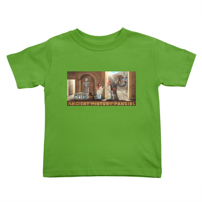 Fangirl Life Kids Toddler T-Shirt by ancienthistoryfangirl's Artist Shop