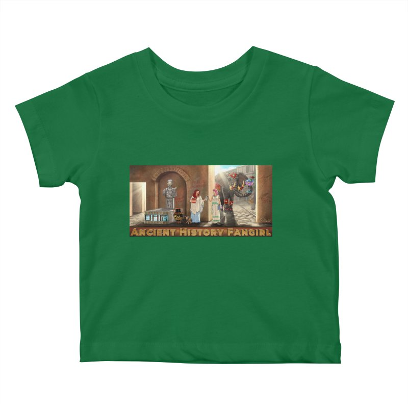 Fangirl Life Kids Baby T-Shirt by ancienthistoryfangirl's Artist Shop