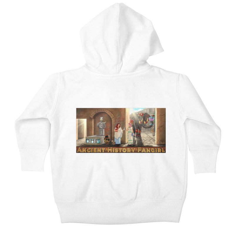 Fangirl Life Kids Baby Zip-Up Hoody by ancienthistoryfangirl's Artist Shop