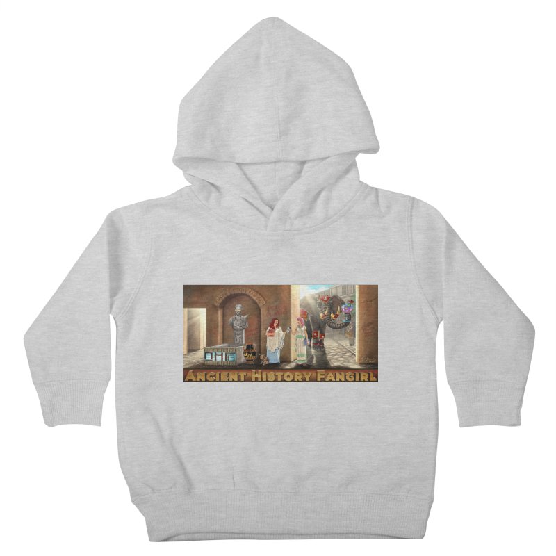 Fangirl Life Kids Toddler Pullover Hoody by ancienthistoryfangirl's Artist Shop