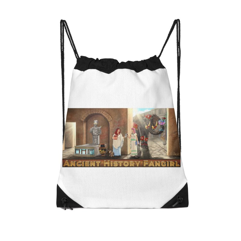 Fangirl Life Accessories Bag by ancienthistoryfangirl's Artist Shop