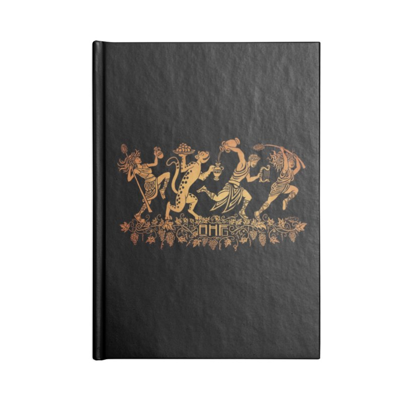 Dionysus and the Dancing Maenads Accessories Notebook by ancienthistoryfangirl's Artist Shop